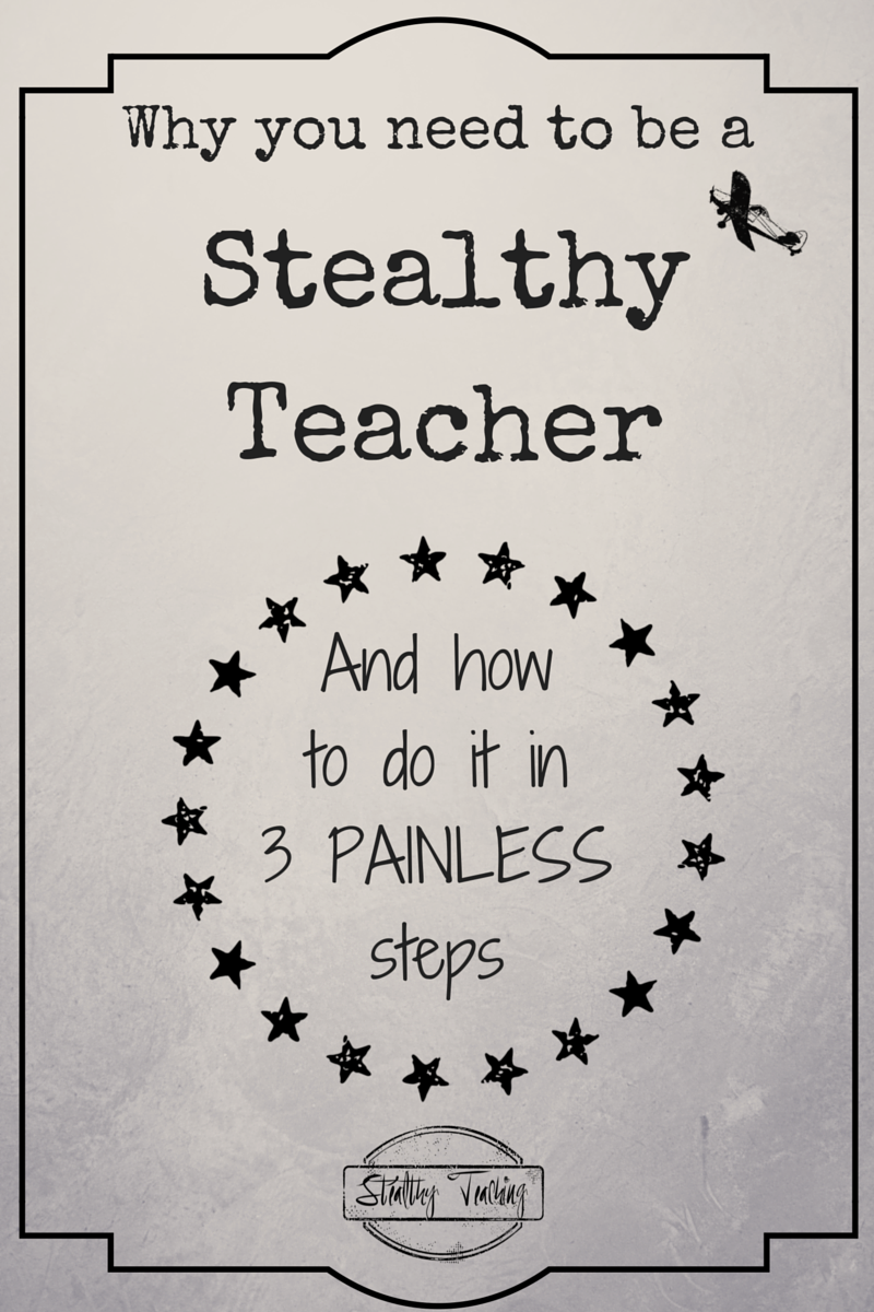 Not sure what Stealthy Teaching is?  Find out how EVERYONE with children can benefit from Stealthy Teaching, and how it will change your life and make your children EXCEPTIONAL learners in 3 PAINLESS steps.