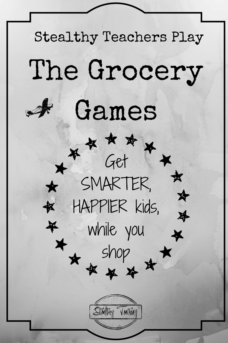Anytime can be learning time when you're a Stealthy Teacher.  Find out how to make your shopping trips more productive, and get smarter, happier kids while you shop!